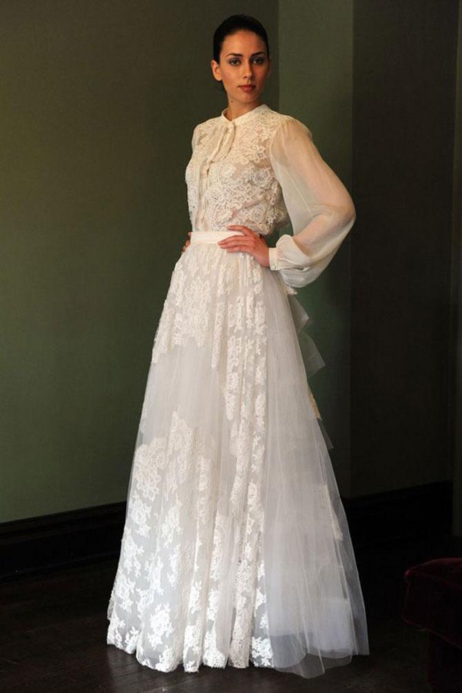 Zeer www.luciasandaal.com/ | De 10 opvallendste bruidsjurken trends van  VE12