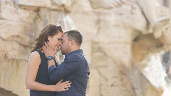 Romantisch huwelijksaanzoek in Rome, deel 2